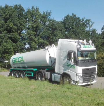 mesttransport tankwagen geca